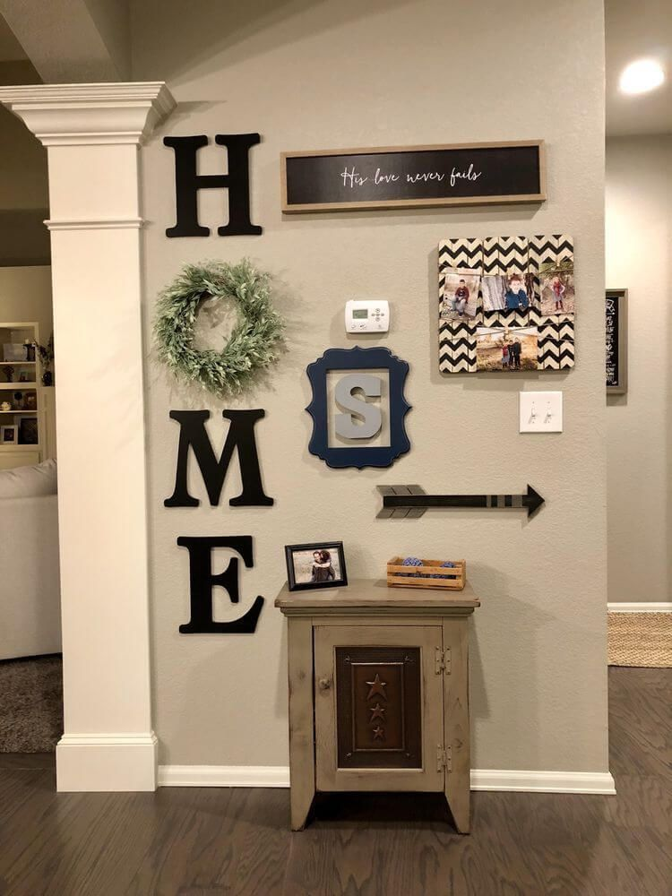 Check Out Our Entryway Wall Decor Selection For The Very Best In Unique Or Custom Handmade Pieces Farmhouse Wall Decor Room Wall Decor Farm House Living Room
