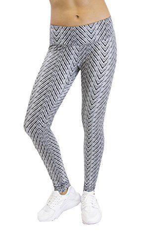 783a14c2bb Damenmode Sporttops 90 Degree By Reflex Activewear Yoga Pants Peachskin  Brushed Printed Leggings M