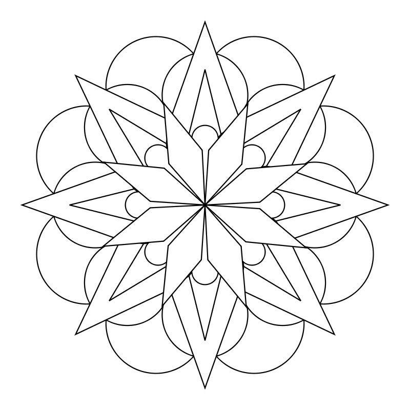 Mandala Tattoo Drawing Mandalatattoo Einfaches Mandala Mandala Design Mandala Muster