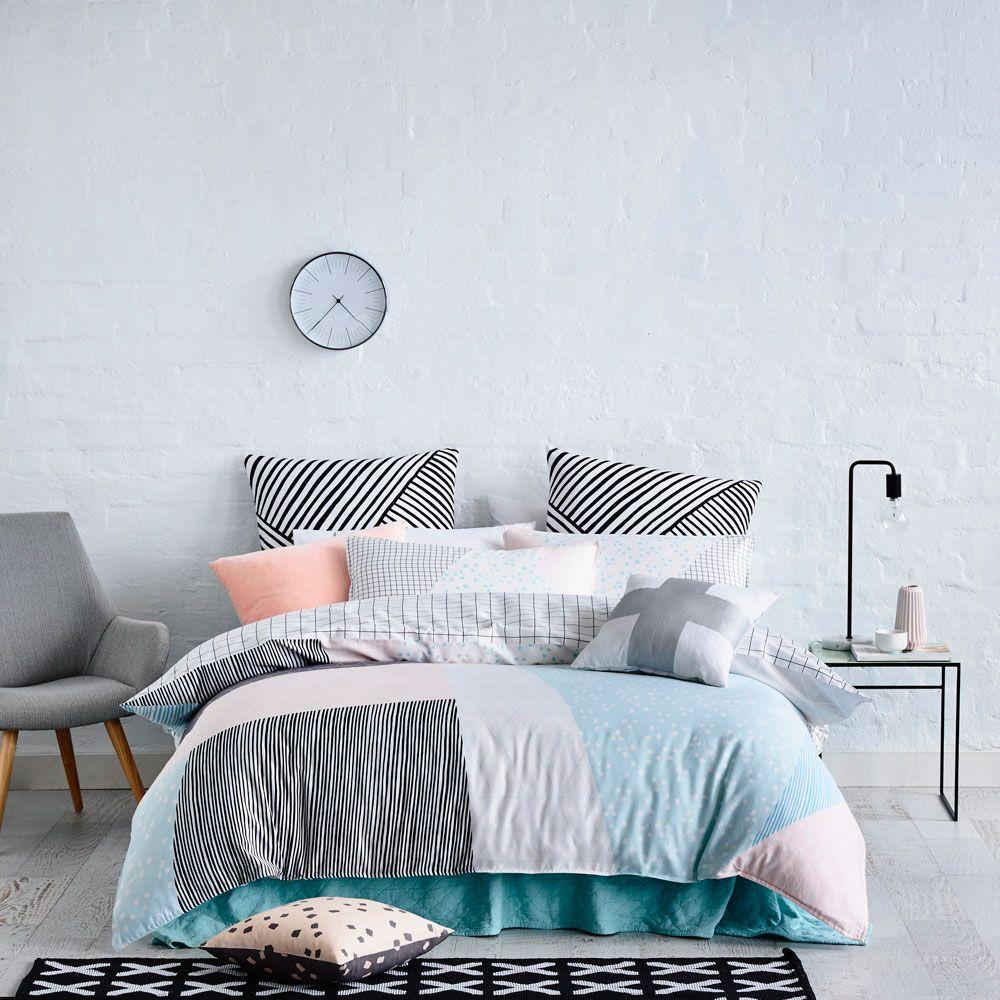 Mercer + Reid Kasuki   Bedroom Quilt Covers U0026 Coverlets   Adairs Online