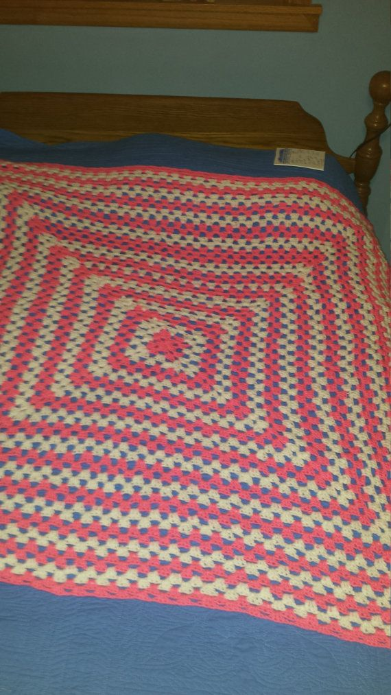 Check out this item in my Etsy shop https://www.etsy.com/listing/494073765/crochet-blanket