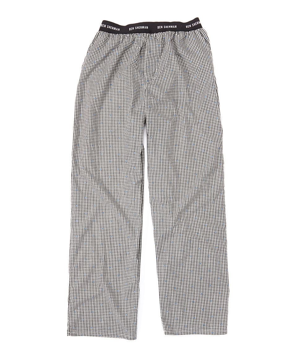 Another great find on #zulily! Black Gingham Lounge Pants by Ben Sherman #zulilyfinds