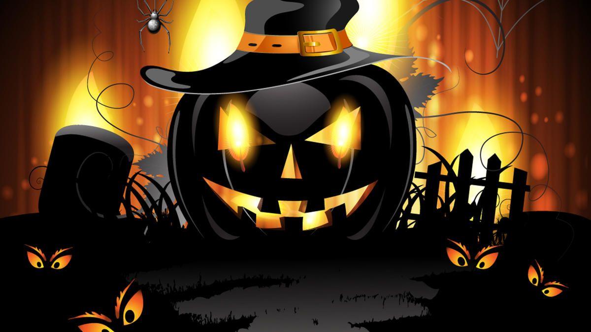 Lisa Frank Halloween Wallpaper