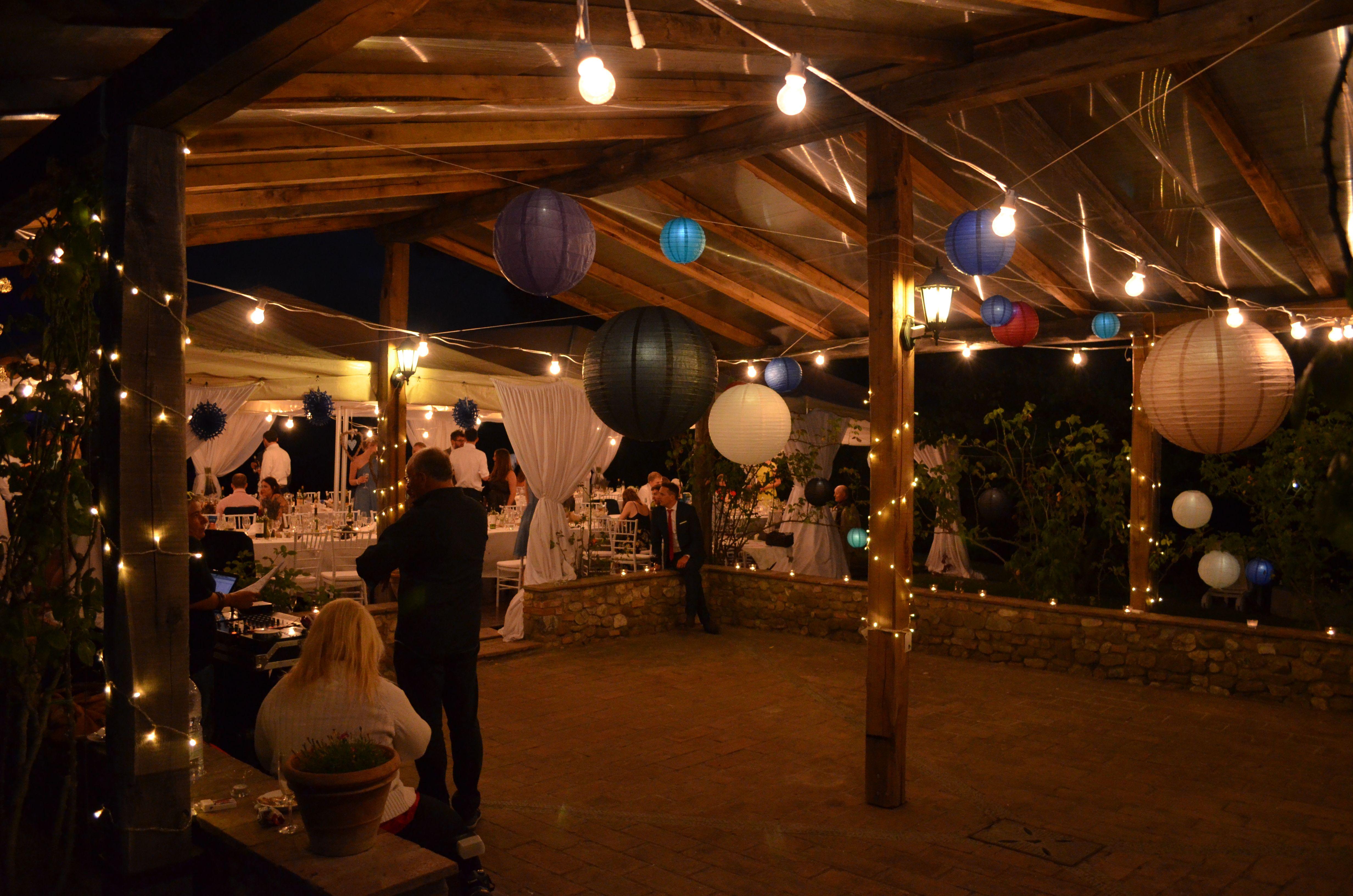 Matrimonio Country Toscana : Allestimento country per festa di matrimonio in toscana