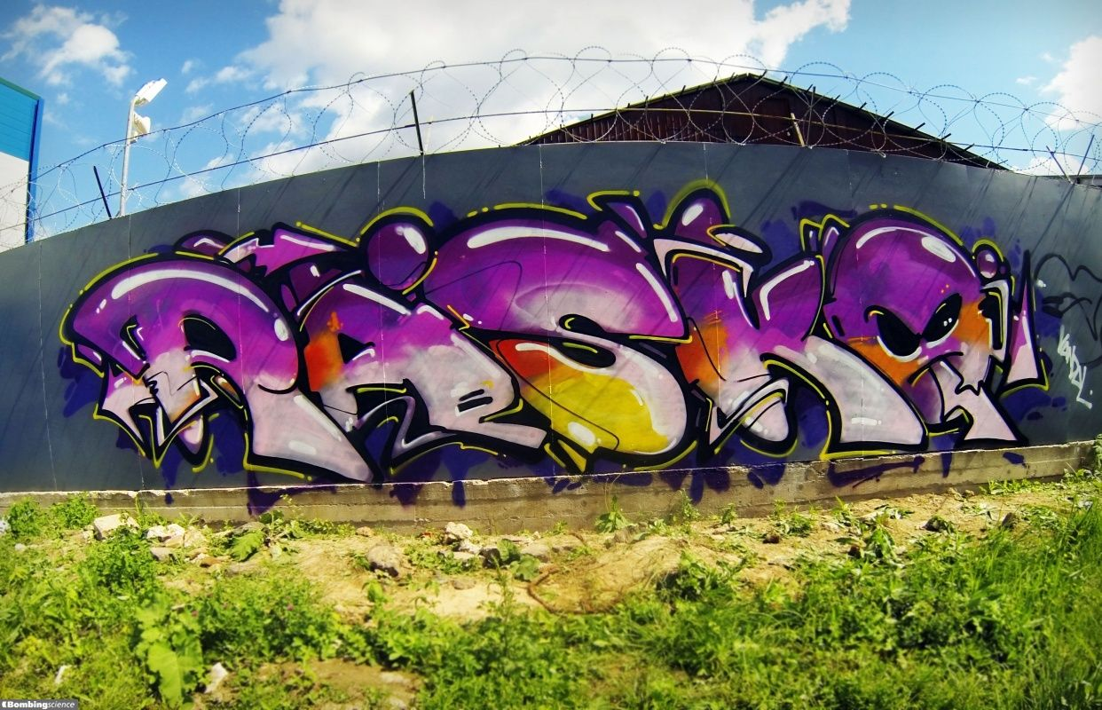 Your graffiti wall - Graffiti Creator Rasko Moscow Walls Graffiti You Are Also Welcome To Post