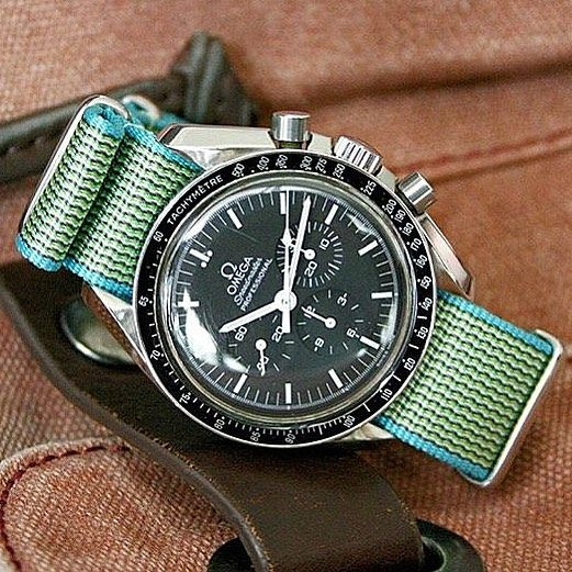 Omega Speedmaster comfortable waterproof NATO straps omegaspeedmaster  speedmaster speedy speedytuesday nato natostrap watch watches watchstrap  wrist ... 66f5b92a64