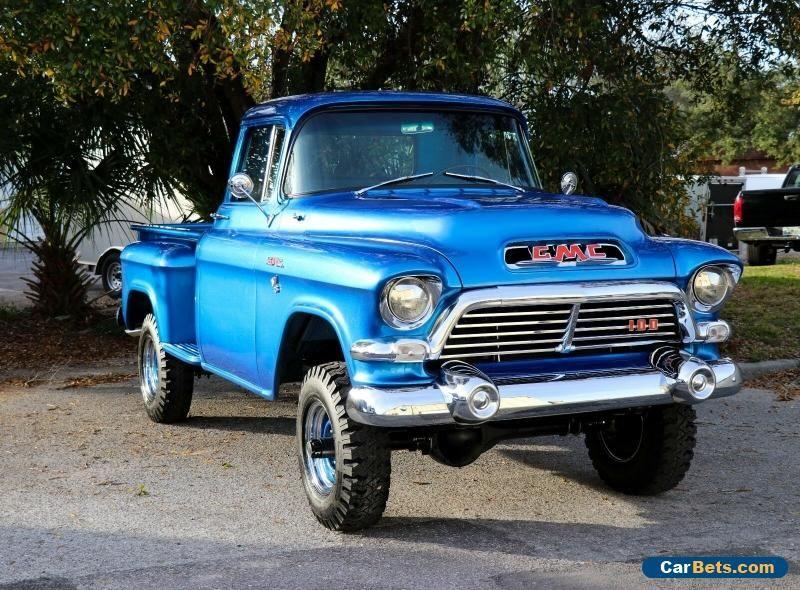 1957 Gmc 100 Napco 4x4 Gmc 100 Forsale Canada Cars For Sale