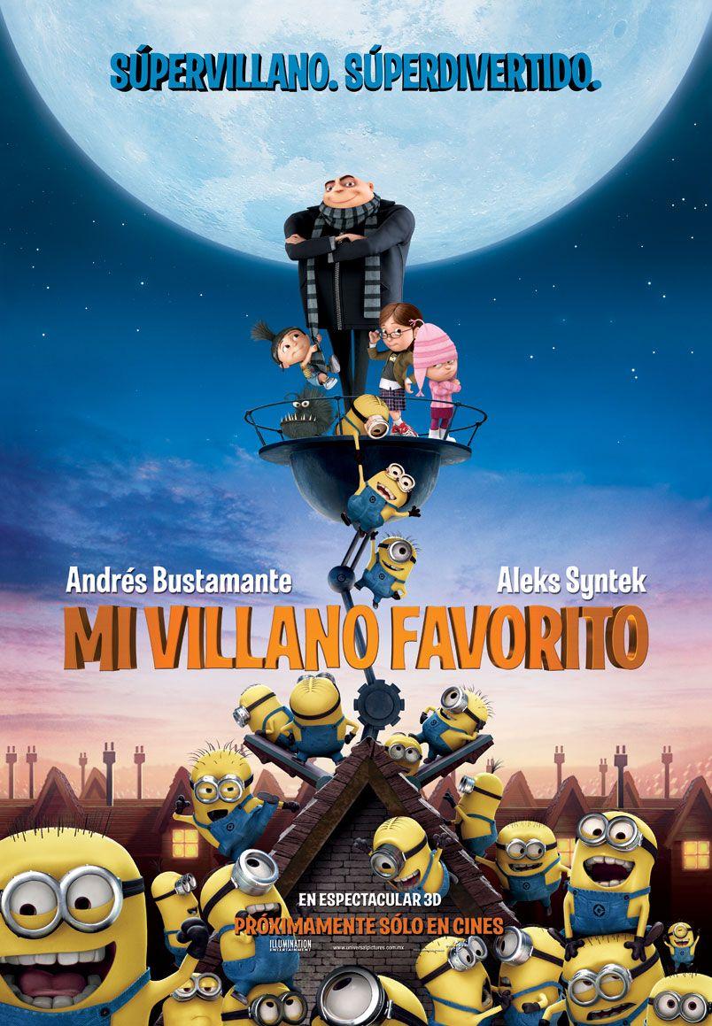 Mi Villano Favorito Peliculas De Animacion Mi Villano Favorito Humor De Minions