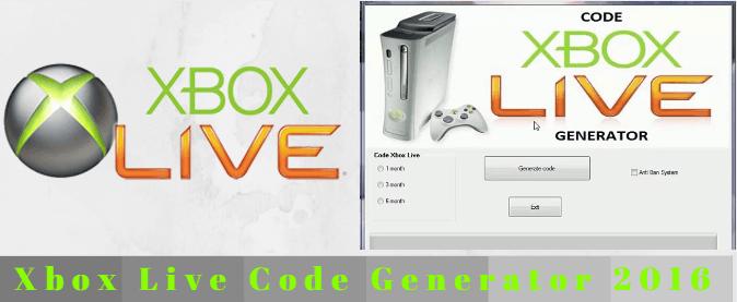 Xbox Live Code Generator 2017 | www latesthackingsoftwares com
