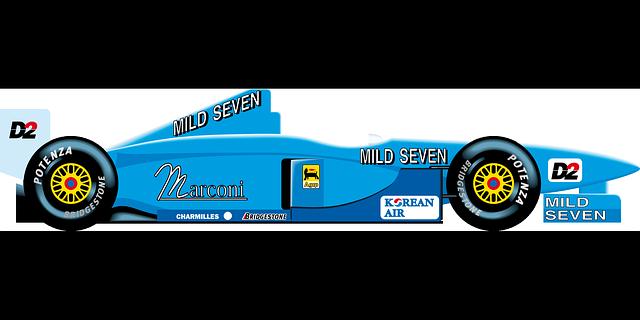 Free Vector Graphic: Benetton, F1, Formula 1 - Free Image on Pixabay - 96056 Race Car