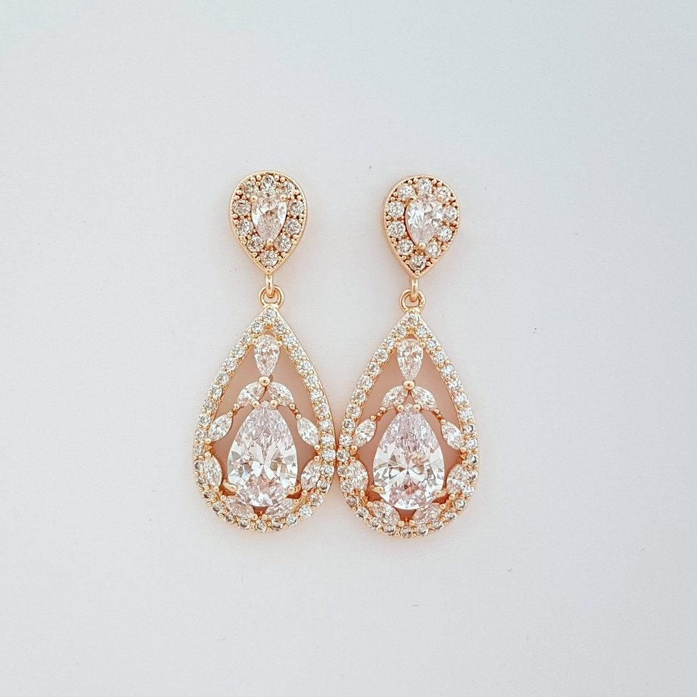 38+ Wedding earrings gold plated info
