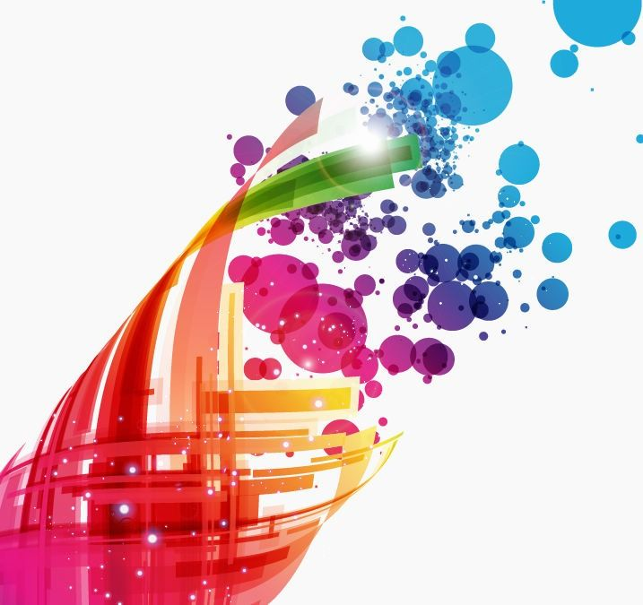 Graphic Art Designs Colorful Abstract Design Background Vector Art