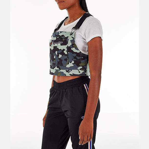 e8eaa1e4a814 Champion Women's Superfleece Overall Bib Crop Top | Outfit ideas in ...