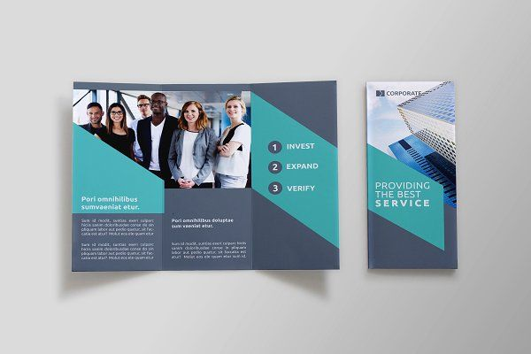 Business TriFold Brochure  Aab By Nexdesign On Creativemarket