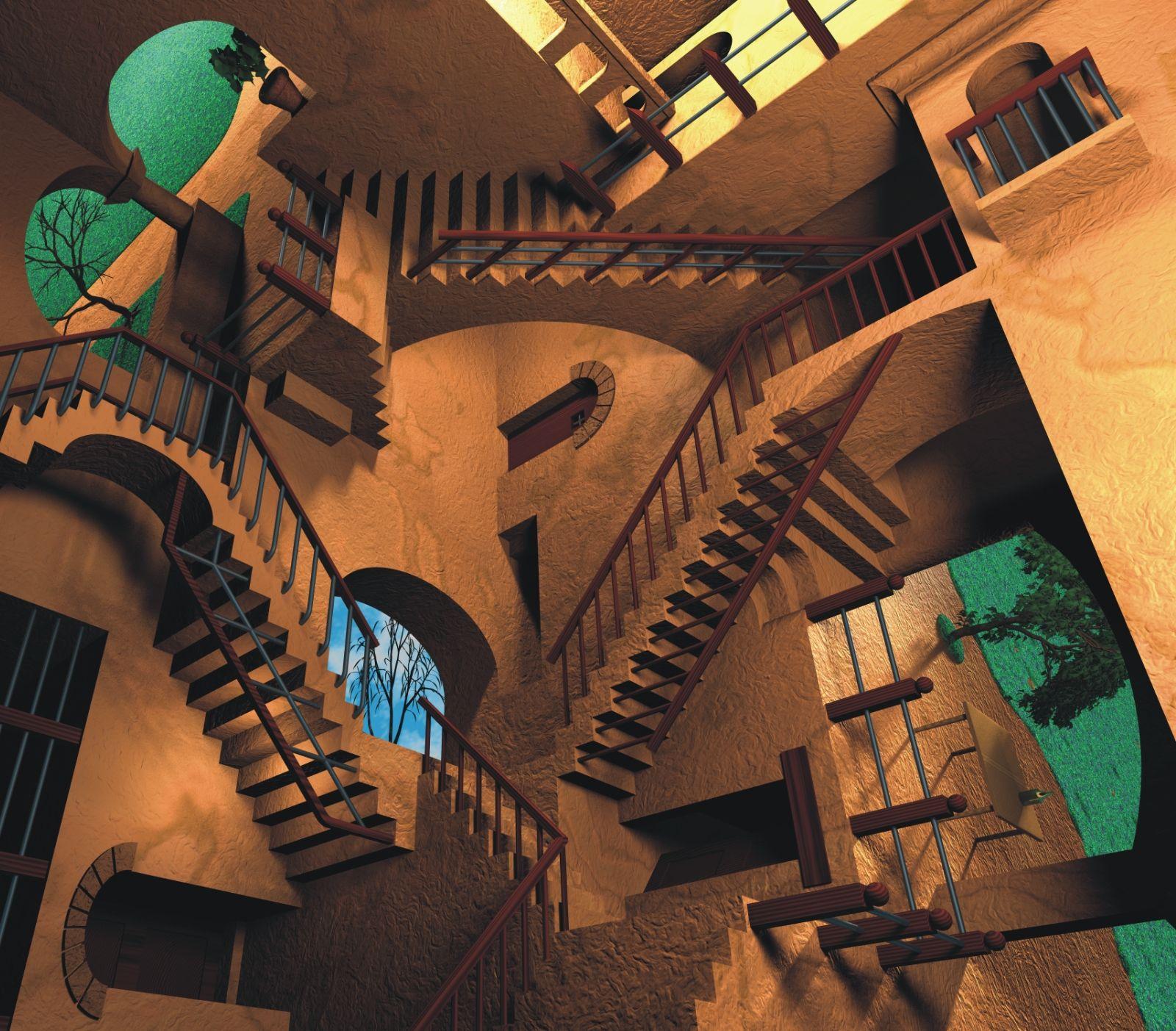 Escher relativity minecraft
