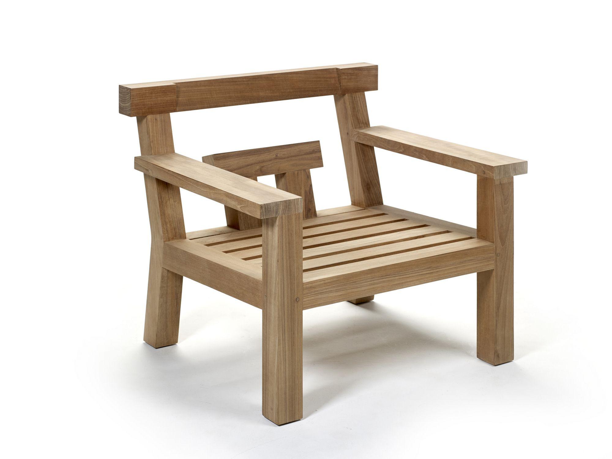 Teak Garden Armchair With Armrests Nara Easy Chair Royal Botania Royal Botania Chair Easy Chair