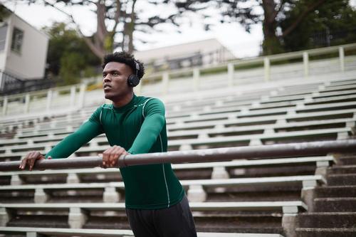 Plantronics Backbeat Fit 505 On Ear Wireless Sport Headphones Black Sports Headphones In Ear Headphones Headphones
