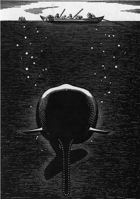 Beneath the Sea, illustrated by Rockwell Kent