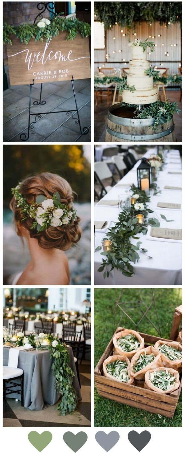 Beautiful Budget Decor How to Style a Greenery Wedding Floral