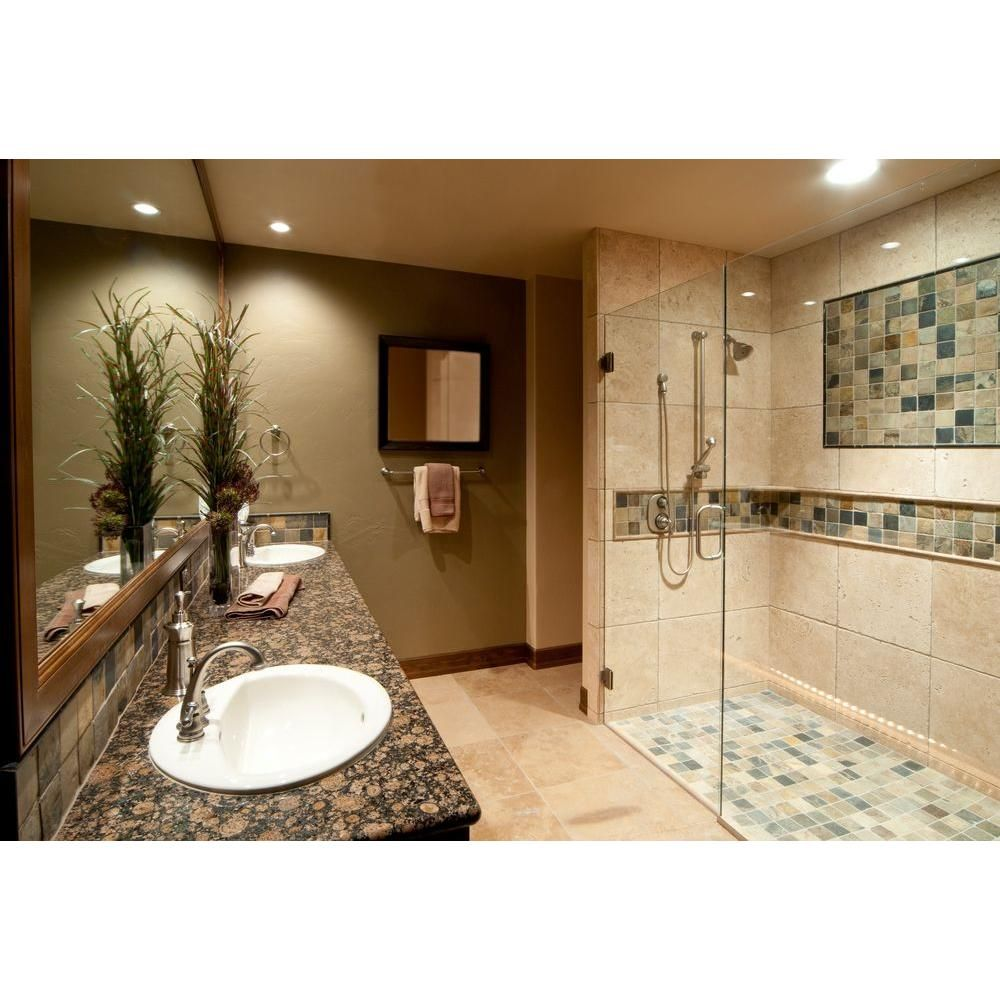 Ms International Roma 18 In X 18 In Honed Travertine Wall And