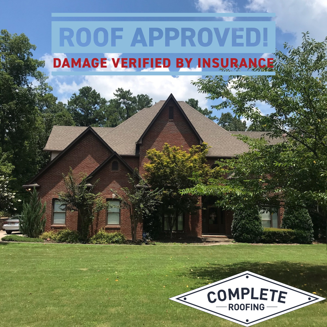 Yay Another New Roof Is Approved In Birmingham Damage