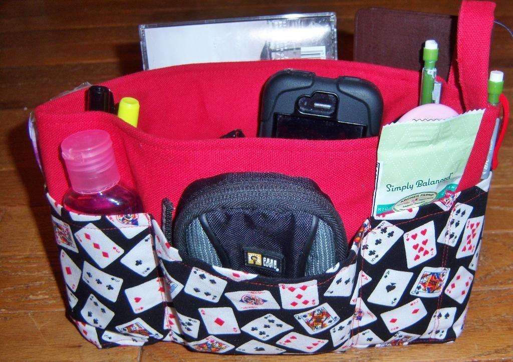 Purse Organizers And Pocket Roll Pattern On Craftsycom