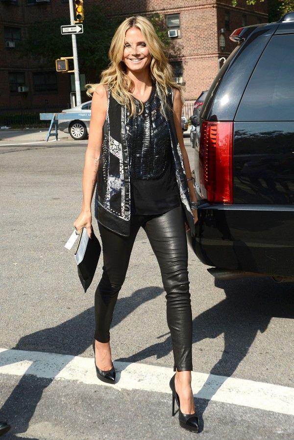 037abfe114ebcb Heidi-Klum-Balenciaga-Leather-Leggings-1 | Fashion Favorites ...