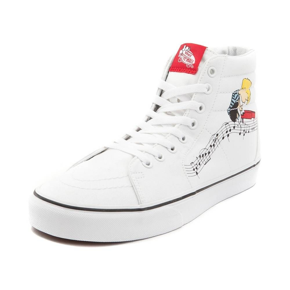 Vans Sk8 Hi Peanuts Flying Ace Skate Shoe - blue - 497087 | What I want for  My Birthday & Christmas | Pinterest | Flying ace, Skate shoes and Vans sk8