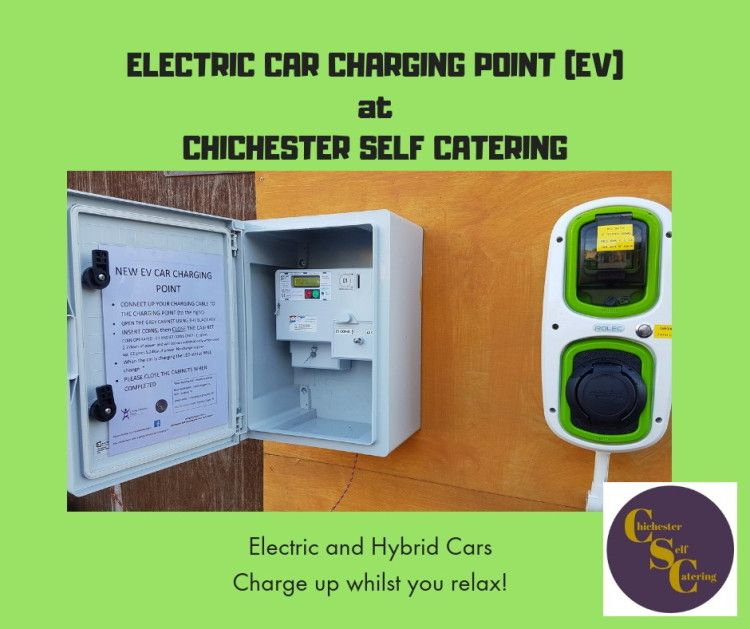 Car charging now at Chichester Self Catering for your