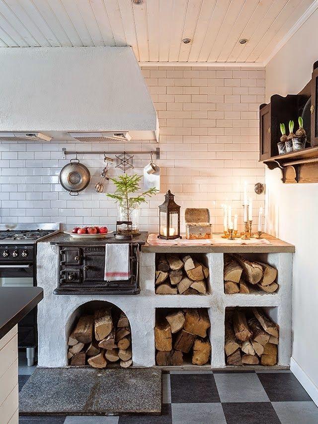 SSO Blog   Vintage Home Decor   Vintage Furniture, Home Accents, Kitchen U0026  Tabletop | Second Shout Out | Para Uma Casa | Pinterest | Küche, Kachelofen  Und ...