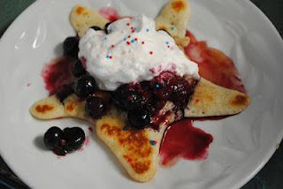 4th of July Star Pancakes