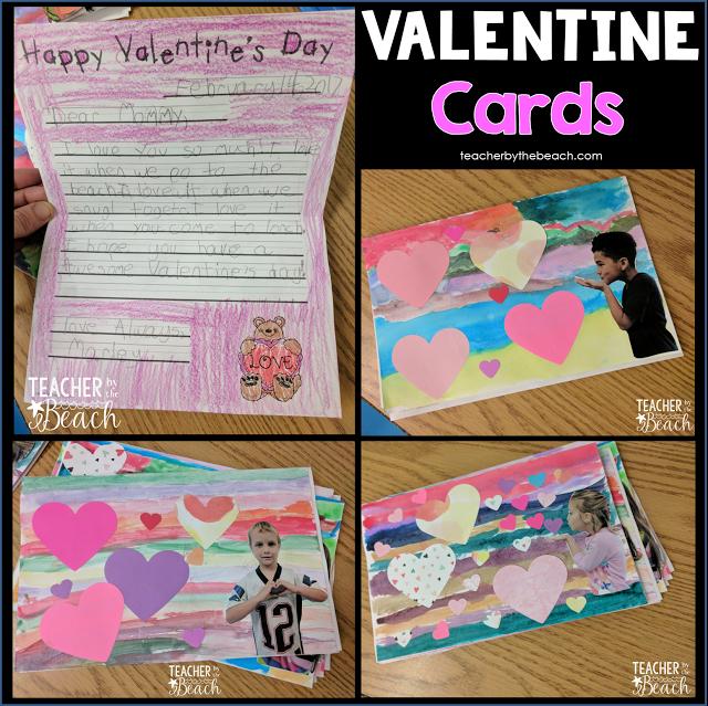 Valentine Cards FREEBIE - Teacher by the Beach