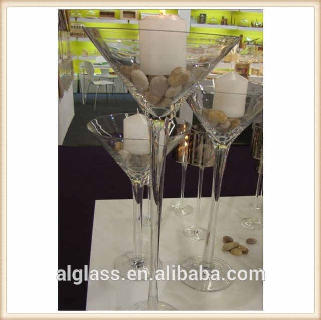 Source Wholesale Giant Martini Glass Vases Centerpieces On Mibaba
