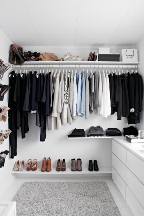 walk in closet tumblr. Even A Small Closet Can Have Organization. Walk In Tumblr