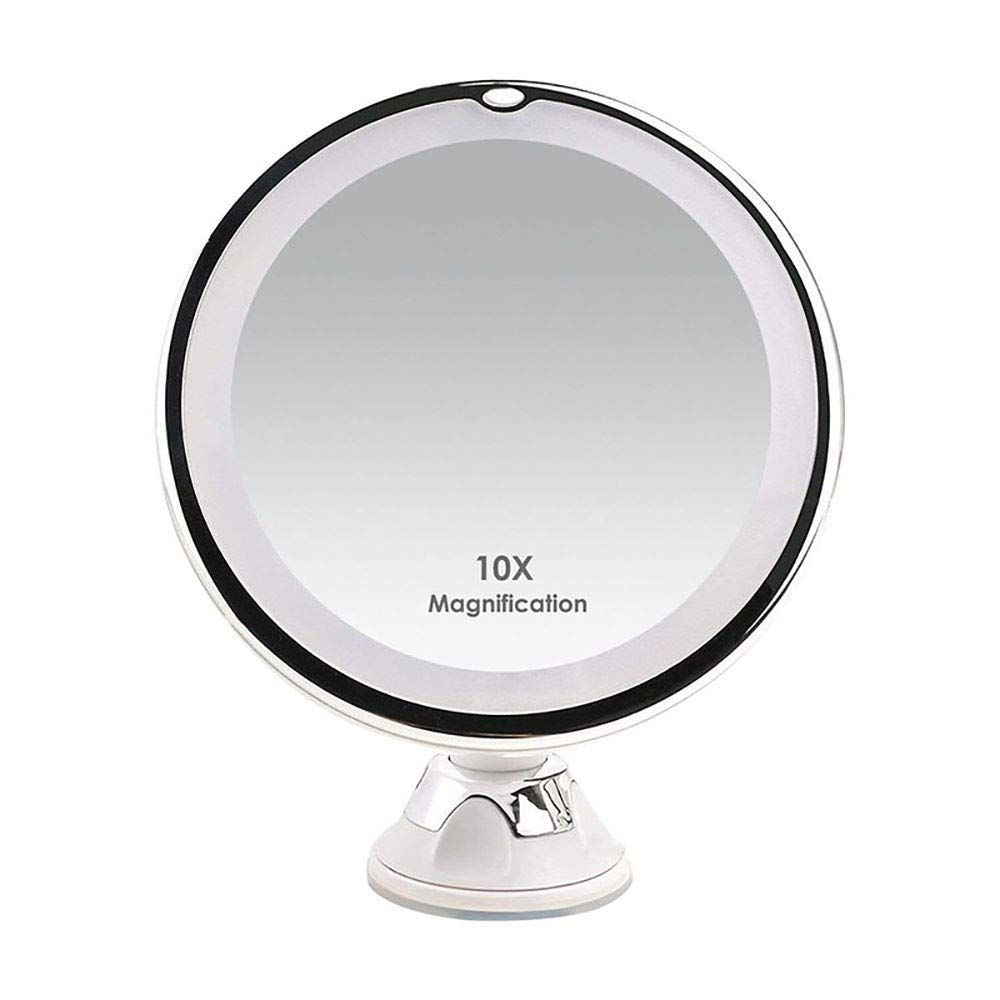 Updated 2019 Version 10x Magnifying Makeup Vanity Mirror With
