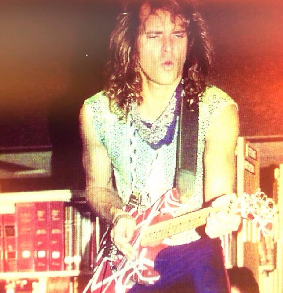 What S Going On Here David Lee Roth Pirating Eddie Van Halen S Prized Frankenstrat Van Halen David Lee Roth Eddie Van Halen