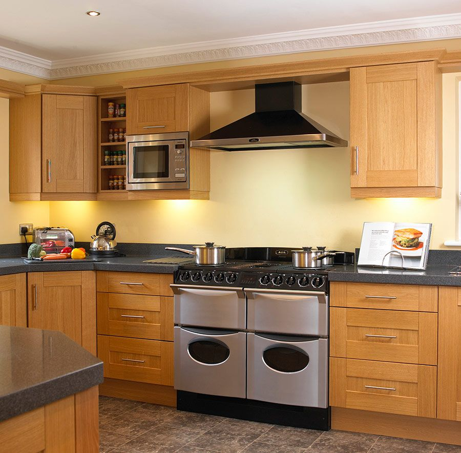 Cabinets With Light Wood Kitchen Designs: Natural Wood Shaker Kitchens Shaker Kitchens In