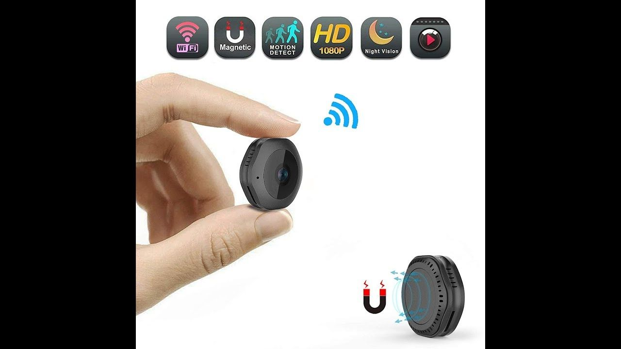 Wifi Spy Camera 1080p Portable Hidden Cameras Wireless Home