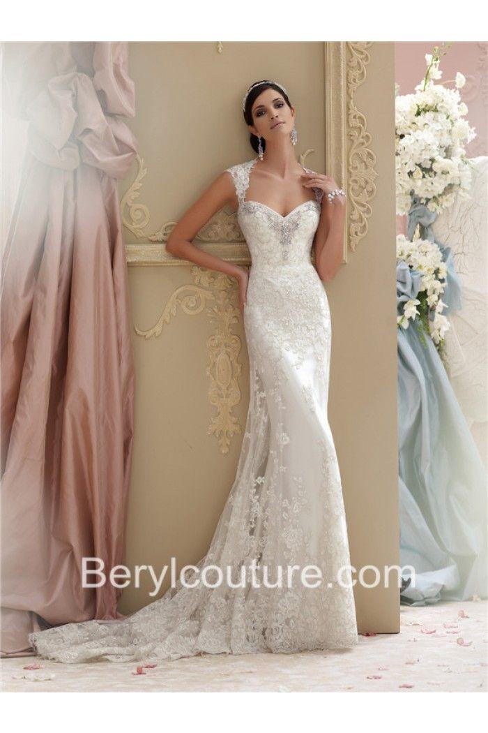 Keyhole Mermaid Wedding Dress