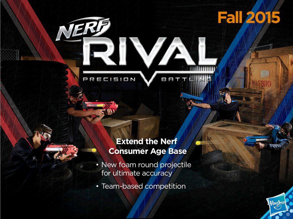 Nerf Rival Blasters: Red vs Blue   Nerf Gun Attachments
