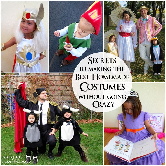 Best Tips for DIY Costumes Homemade halloween, Halloween costumes - top last minute halloween costume ideas