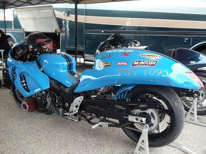 2008 Suzuki Hayabusa Turbo Pro Street Bike Rider Ryan Hable