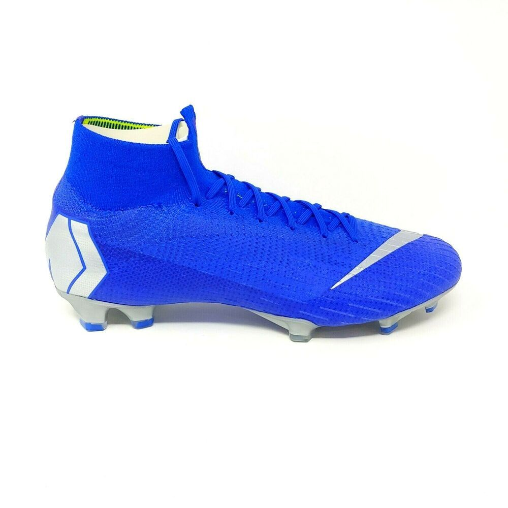 918ab0481 Advertisement(eBay) Nike Mercurial Superfly 6 Elite FG Soccer Cleat Boot  Racer Blue Silver