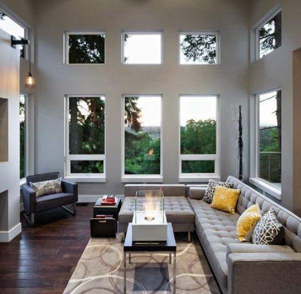 Muebles y Decoración de Interiores Ideas de Modernas Ventanas para