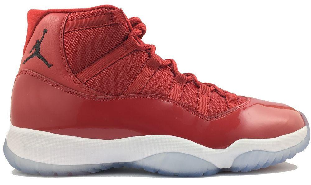 separation shoes 0da1a 850a7 Air Jordan 11 XI Win Like 96 Retro Gym Red 378037 623  MichaelJordan   AirJordan