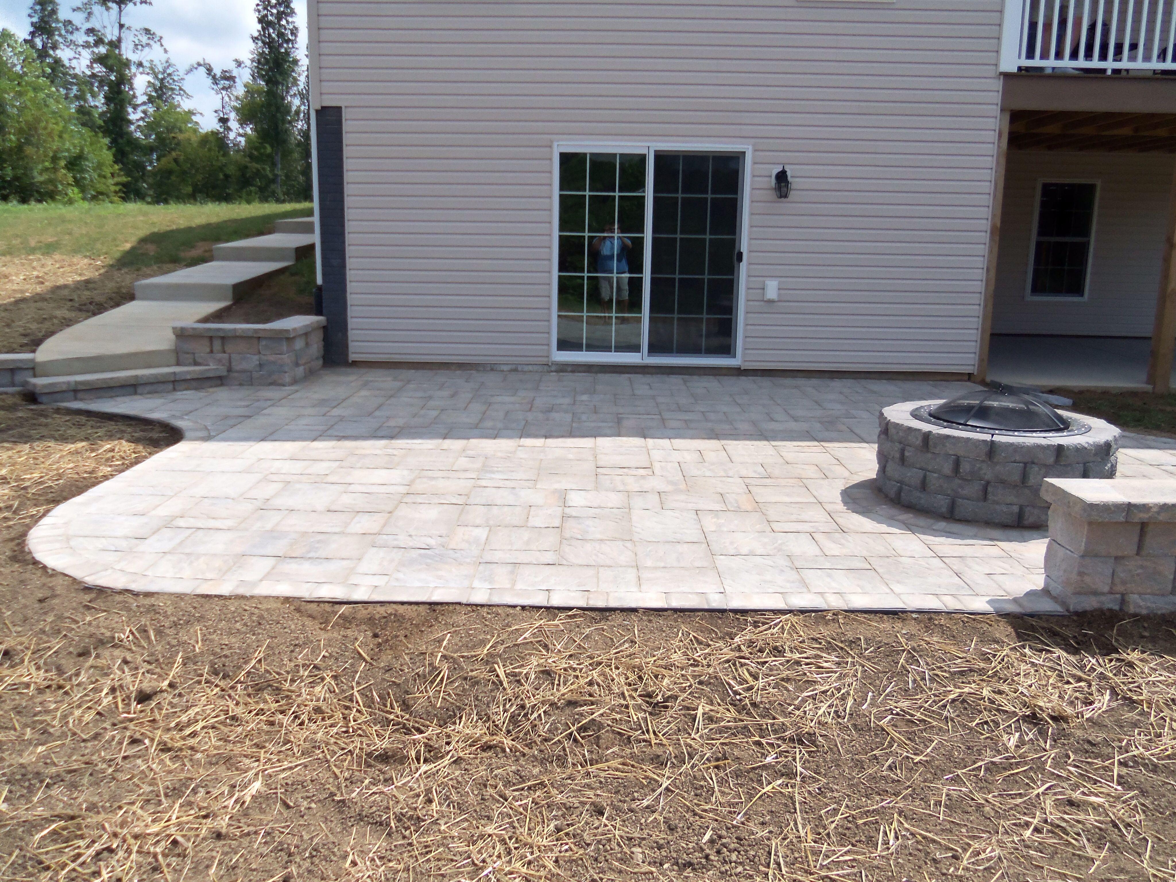 Patio Idea Concrete Patio Designs Paver Patio Outdoor Patio Set