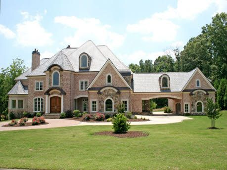 Beautiful home big pretty houses pinterest house for Homes with big garages for sale