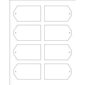 Templates  Printable Tags With Strings  Per Sheet  Tall