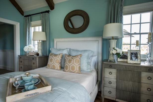 Hgtv dream home 2015 turquoise bedroom hgtv and bedrooms