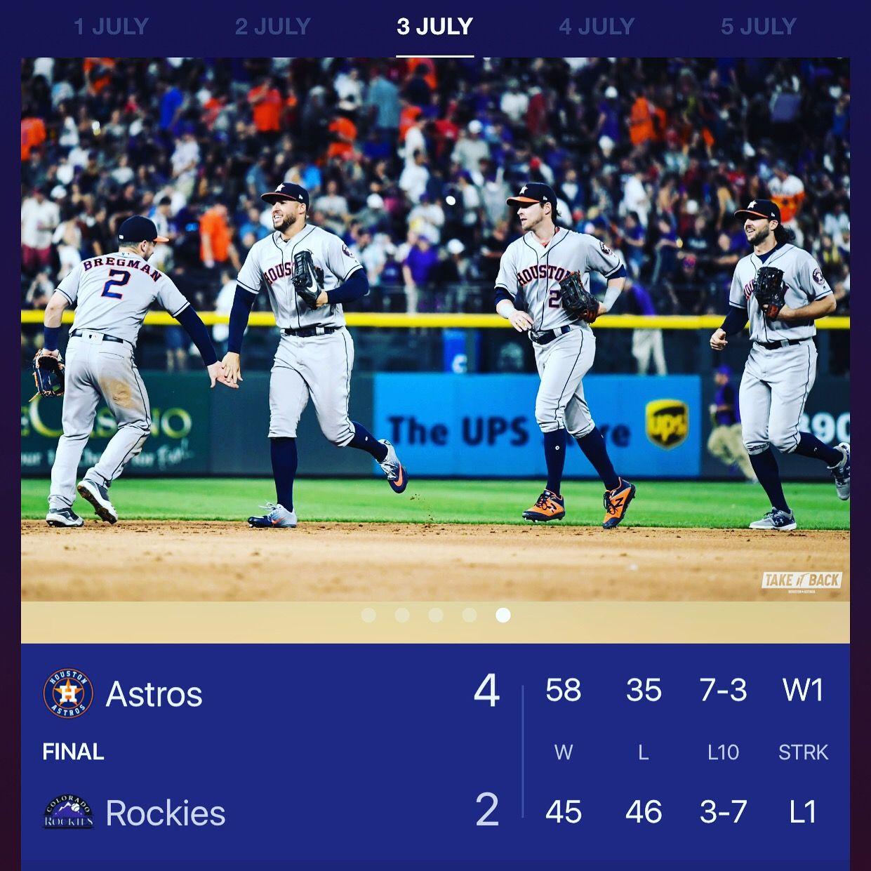 "HoustonAstros vs ColoradoRockies ""The Sports Betting"
